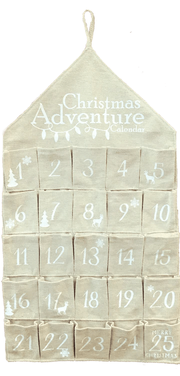 Christmas Adventure is an activity-based advent-style calendar designed to bring families together by providing them with holiday themed