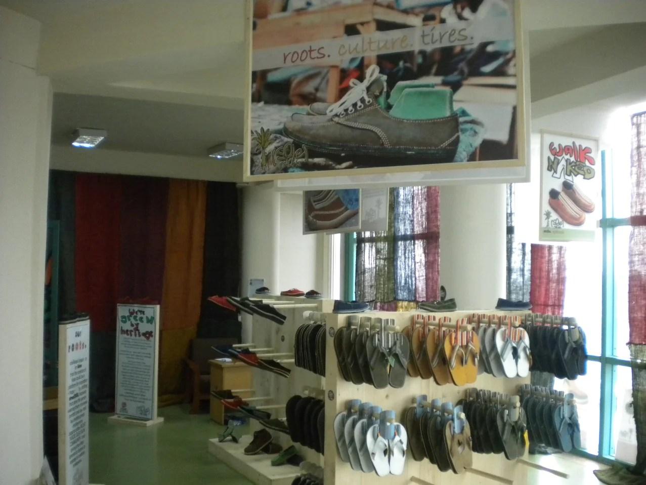 soleRebels retail store in Ethiopia