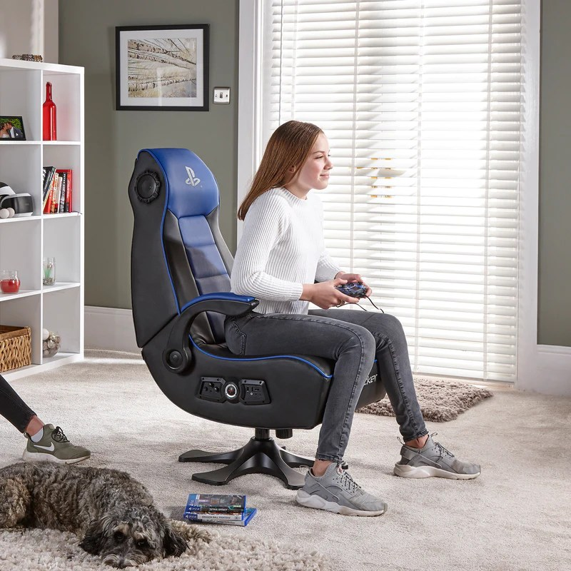 Official Playstation Infiniti 2 1 Audio X Rocker Gaming Chair