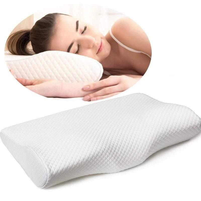 slumber orthopedic memory foam pillow excithing daily