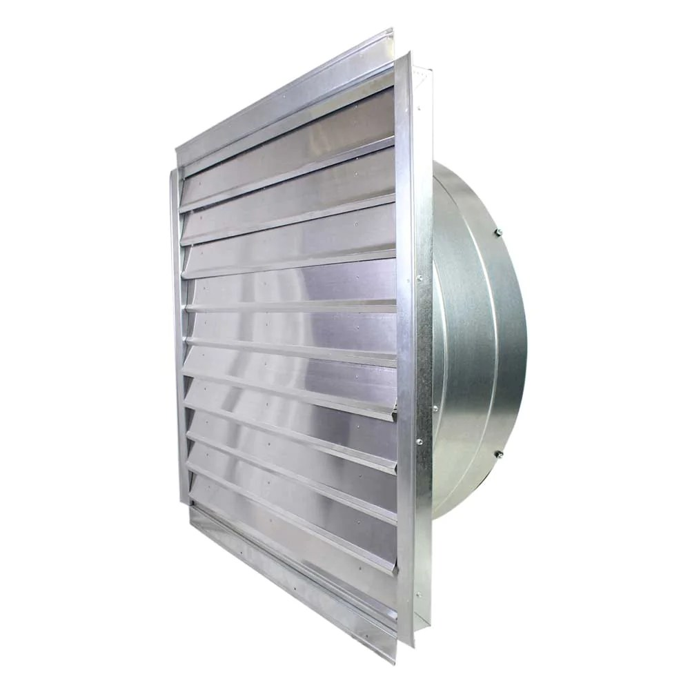 maxx air if36 36 inch 9 000 cfm heavy duty exhaust fan with integrated shutter