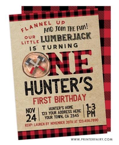 lumberjack printerfairy