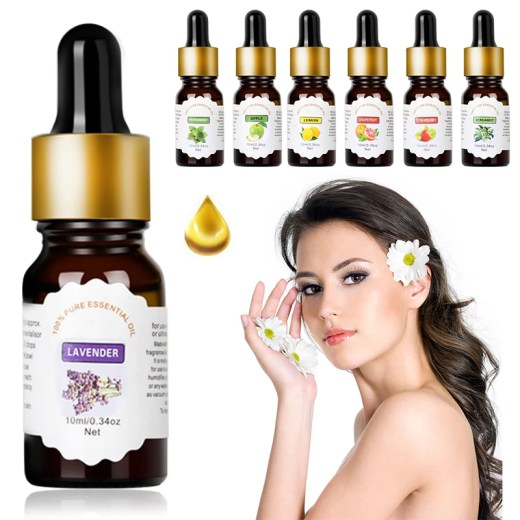 10ml Natural Plant Essential Oil Freshening Air Pure Essential Oils for Car Indoor Home Bedroom Air Humidifier Freshener tools