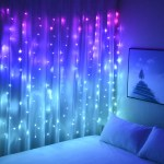 Curtain Lights Hanging Fairy Lights For Girls Bedroom Wall Tapestry Un Dukakeen Com