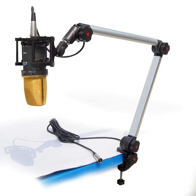 Original Alctron MA614 Luxury professional broadcast outrigger bracket gimbals Suspension Boom Scissor Arm Stand Holder 80a973b9 8fdd 4160 938b