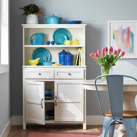 Stylewell Ivory Wood Transitional Kitchen Pantry 36 In W X 58 In H Mrorganic Store