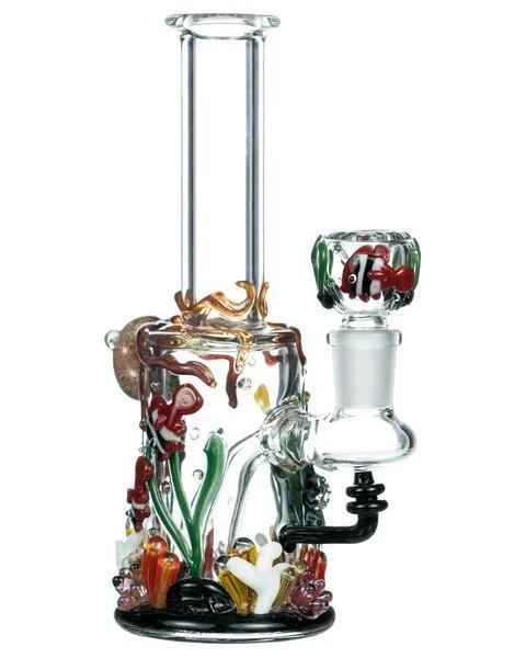 dankstop frog themed water pipe