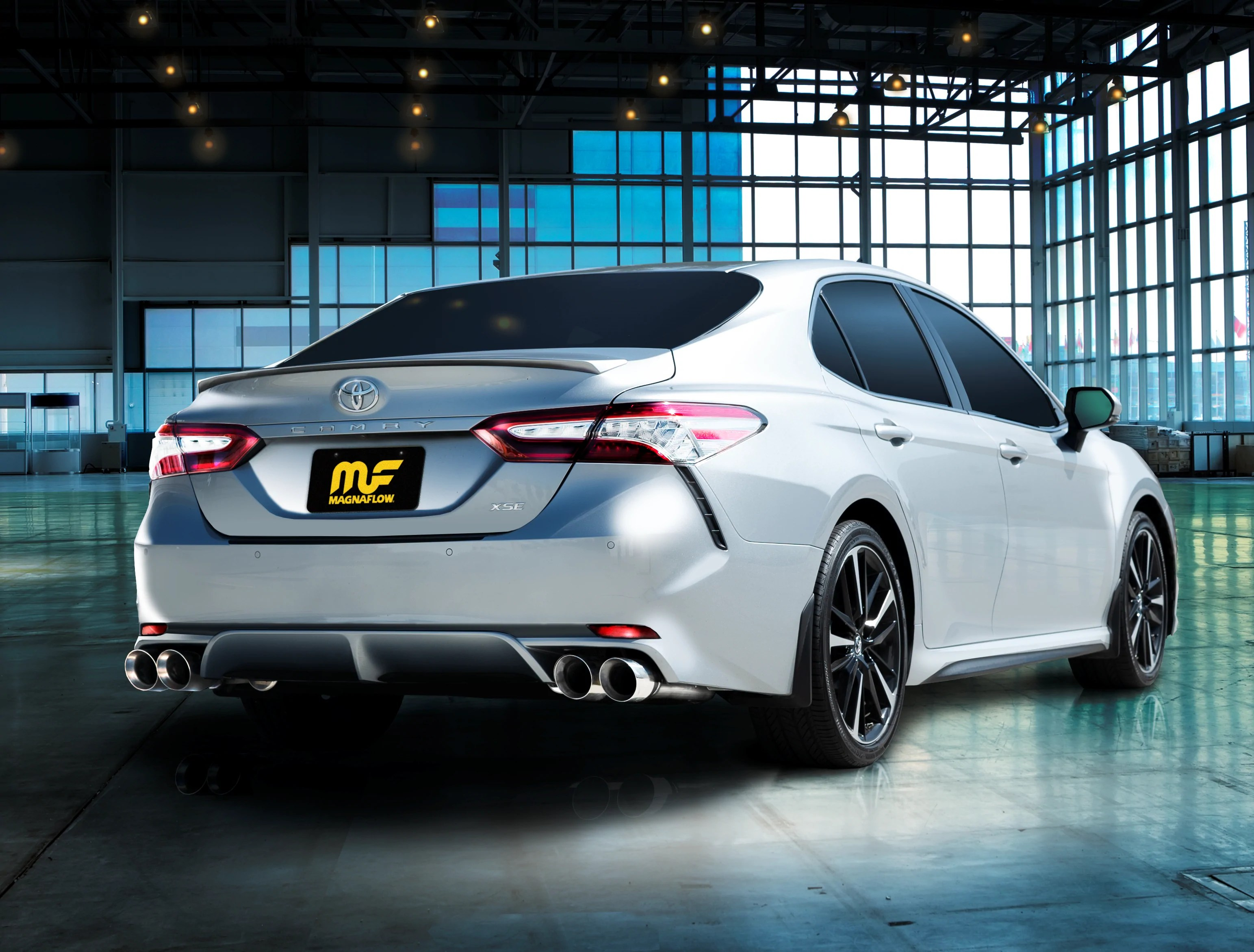 new exhaust system for 2019 toyota camry