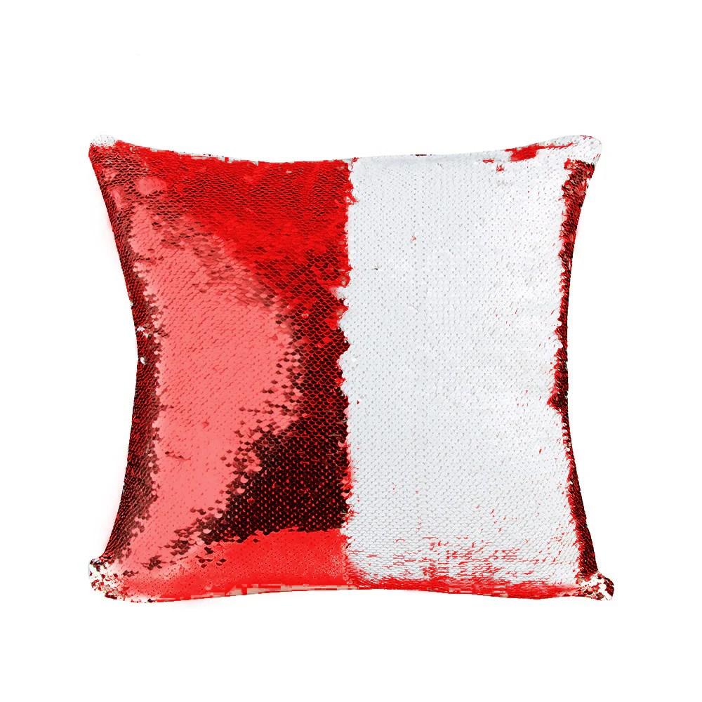 sublimation magic sequin pillow