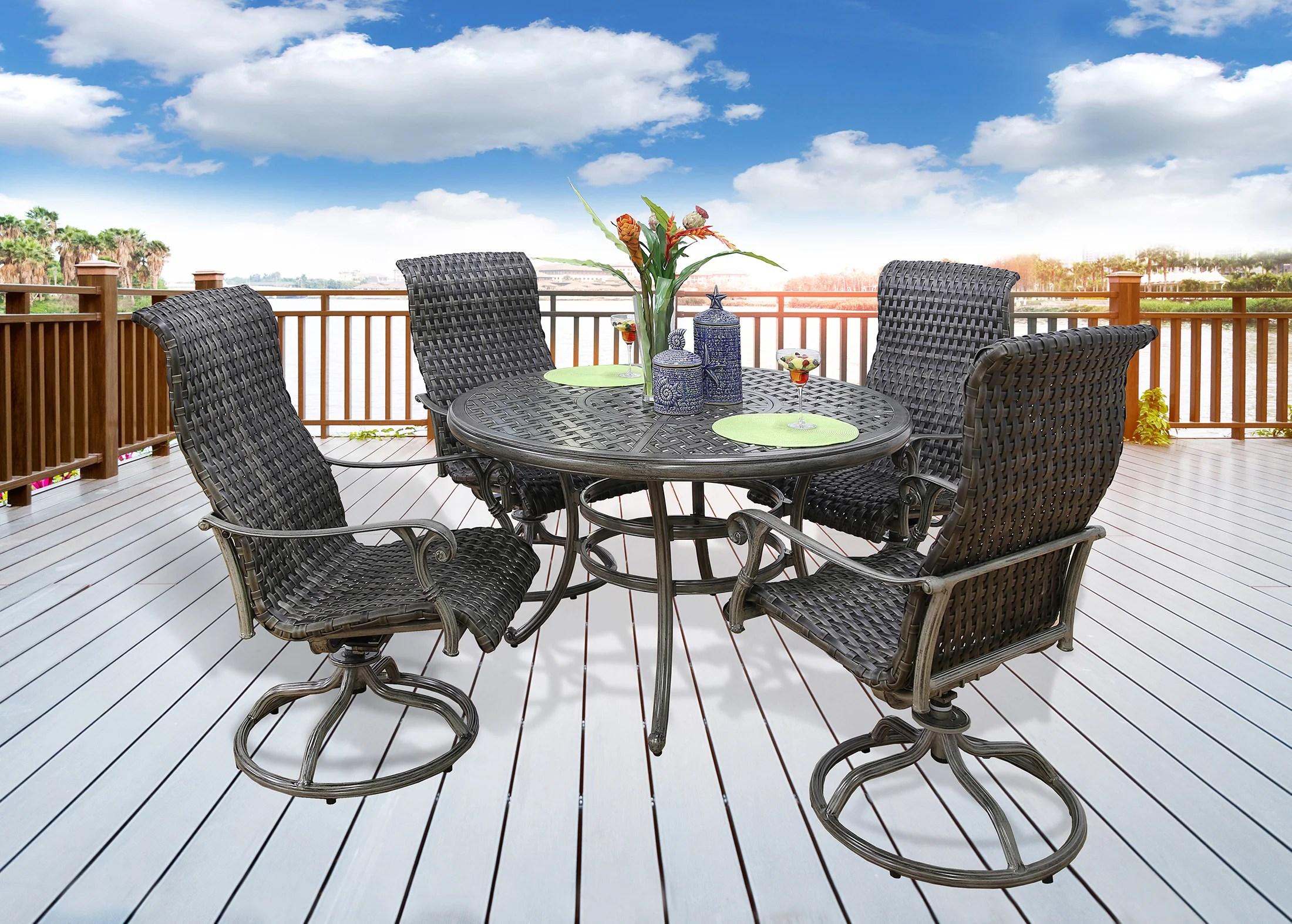 brookstone 5 piece outdoor dining set
