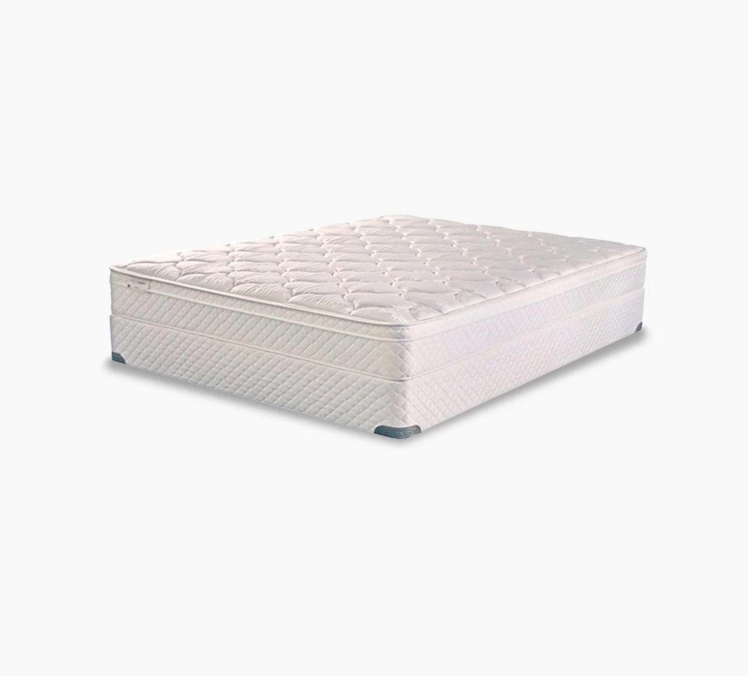 therapedic meadow plush pillow top queen mattress set