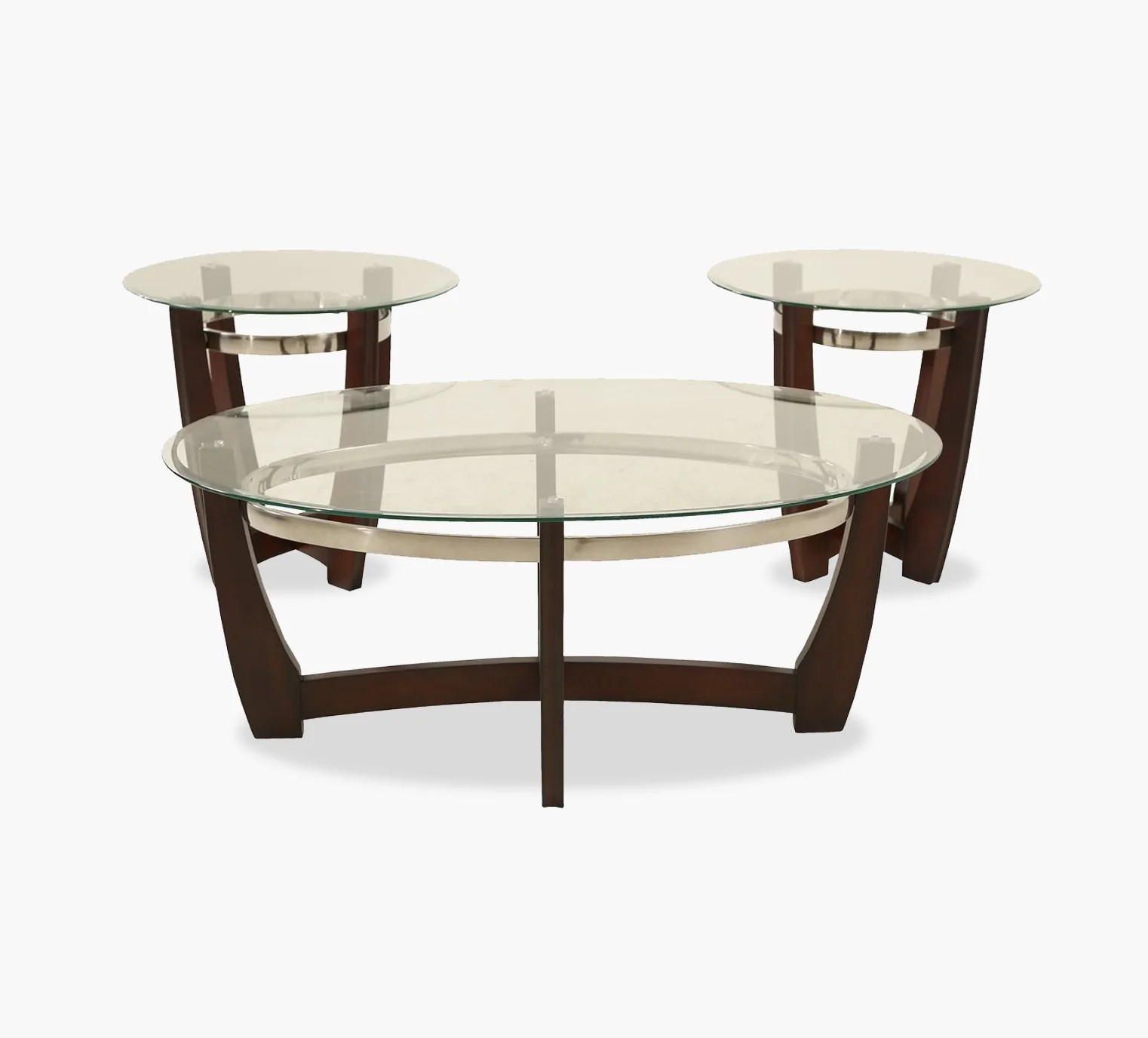 tyson 3 pack cocktail table and 2 end tables