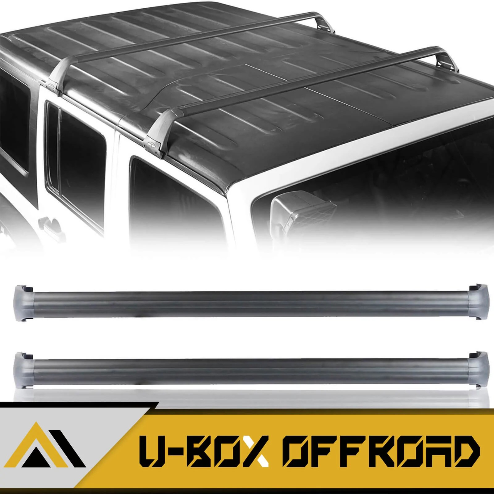 roof rack aluminum alloy 07 21 jeep wrangler jk jl