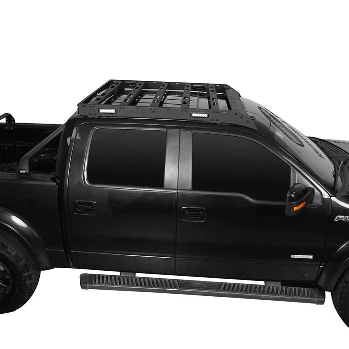 roof rack 09 14 ford raptor f 150 supercrew