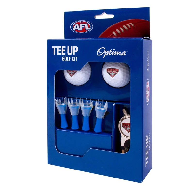 ESSENDON GOLF 2BALL TEE UP KIT GIFT PACK - SportsPower ...