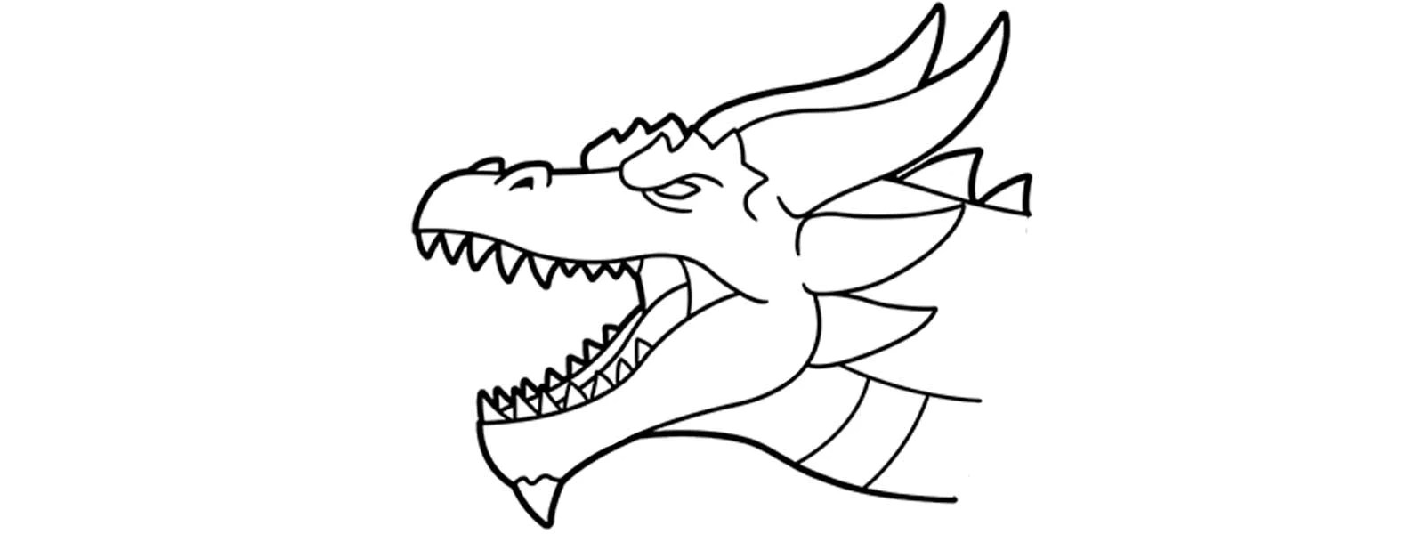 Comment Dessiner Une Tete De Dragon Dragon Naga
