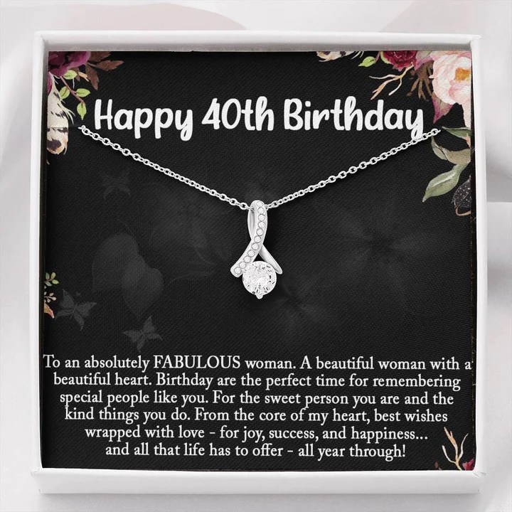 40th Birthday Gifts For Women 40 Years Old Birthday Gift For Best Fri Vos Bijoux