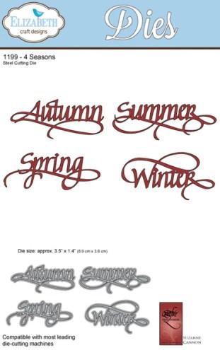 4 Seasons - ElizabethCraftDesigns.com