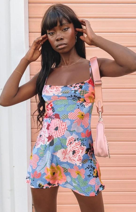 Alegra Mini Dress Poppy
