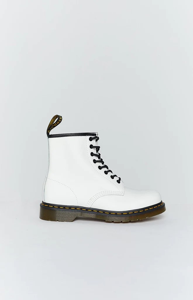 Dr. Martens 1460 8EYE Boot White Smooth 4