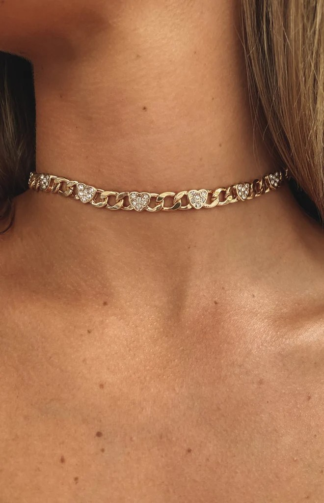 Eclat Crazy Over Necklace Gold 5