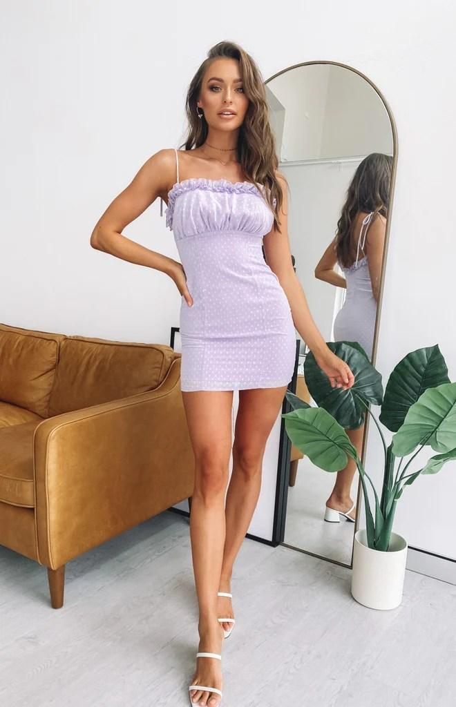 Ellie Dress Lilac 2