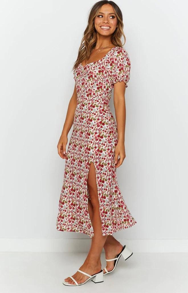 Gigi Summer Midi Dress Floral 5