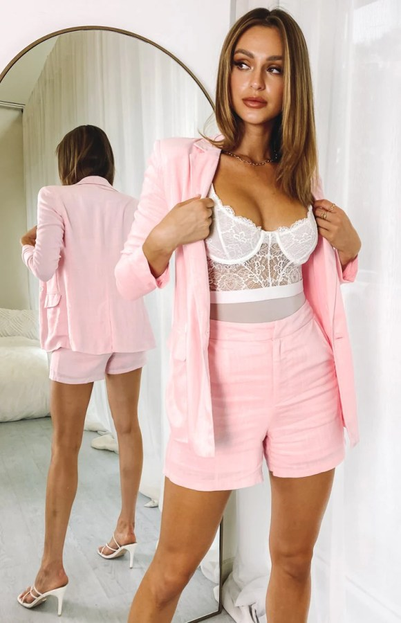 Teenage Dream Blazer Pink
