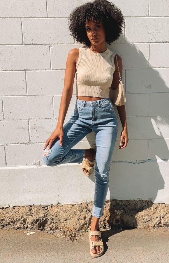 Wilder Skinny Jeans Denim