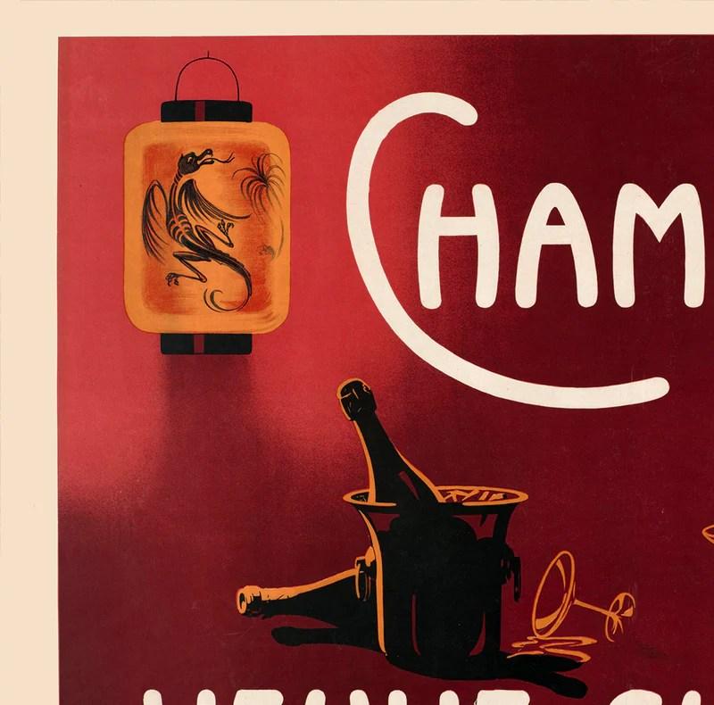 champagne veuve clicquot vintage ad