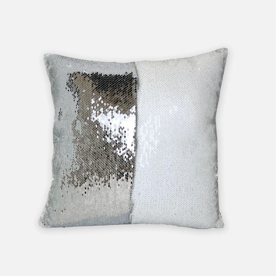 sequin reversible pillow case