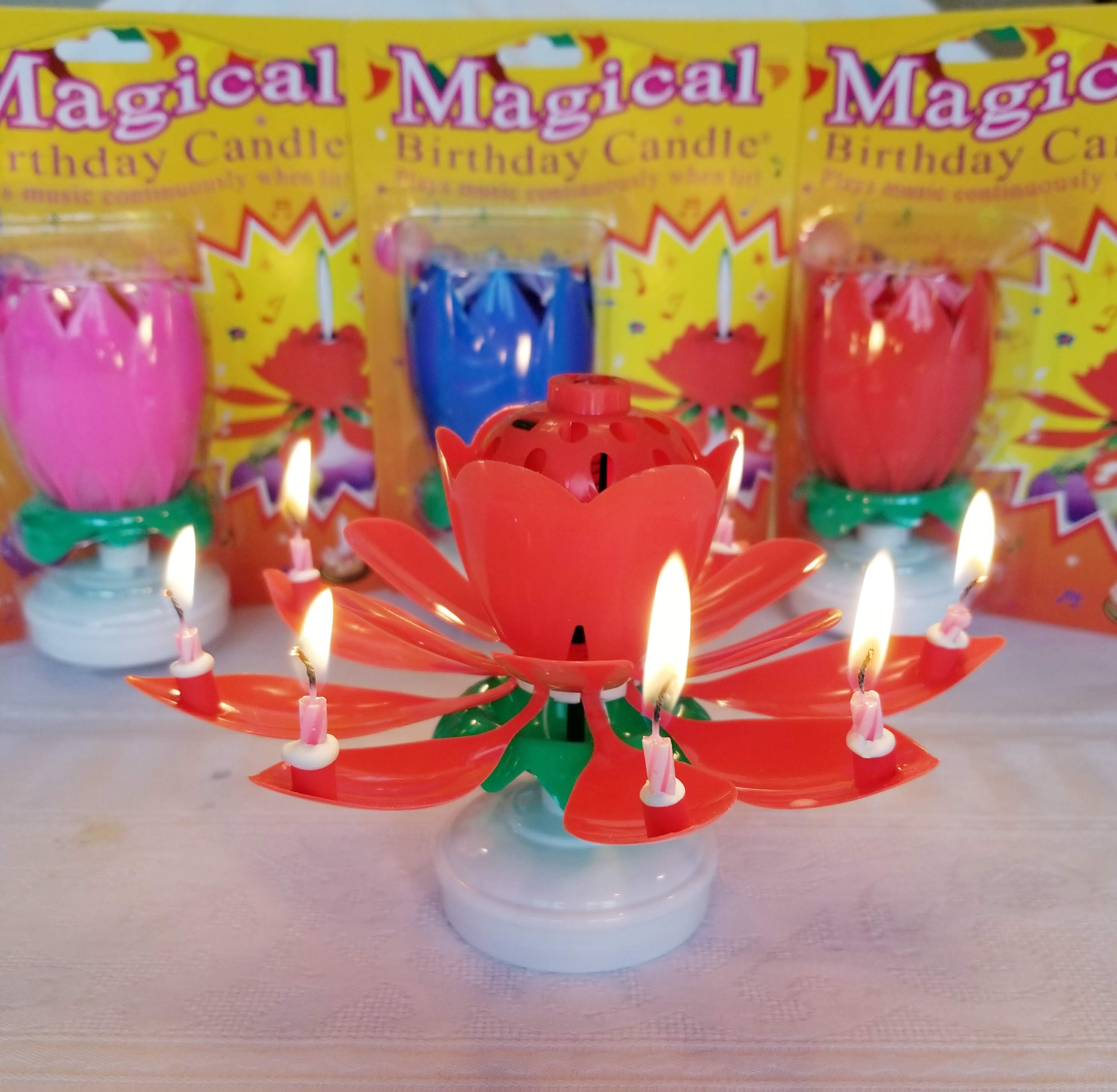 Magical Birthday Candle 1 Pack Shipping Discount Fast Shipping