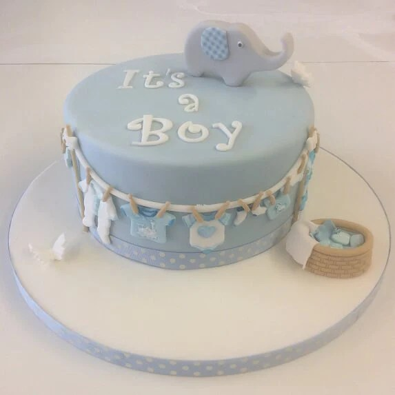 Cake For New Born Baby The Cake Boutique