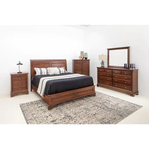 amish classic sleigh bed furniture