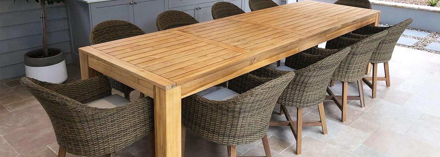 buy outdoor teak furniture online or