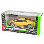Lamborghini Murcielago Lp 670 4 Sv Diecast Model Car Yellow 1 32 Scale Bburago Diecast Model Centre