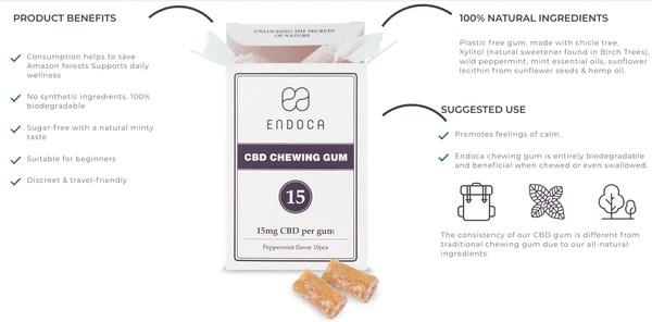 cbd gum endoca