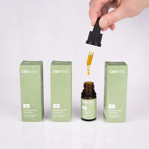 cbd may be applied by Tincture (Oil)