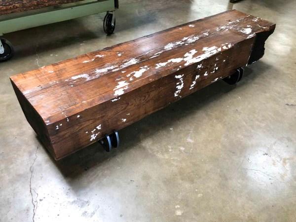 reclaimed heart pine arizona wood beam