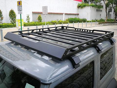 aluminum roof rack cargo basket for