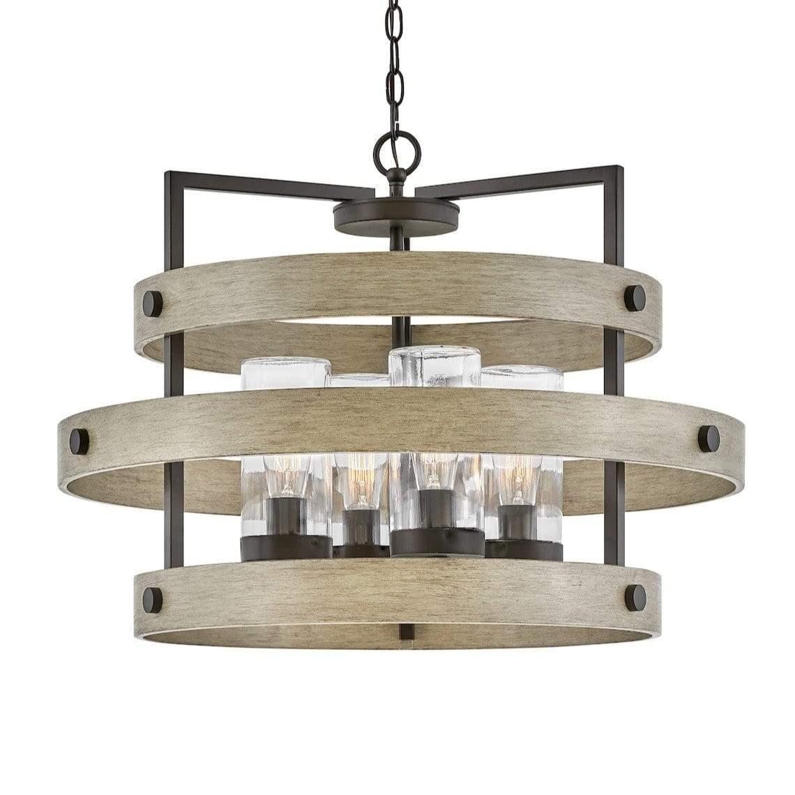 hinkley lighting riverwood outdoor chandelier