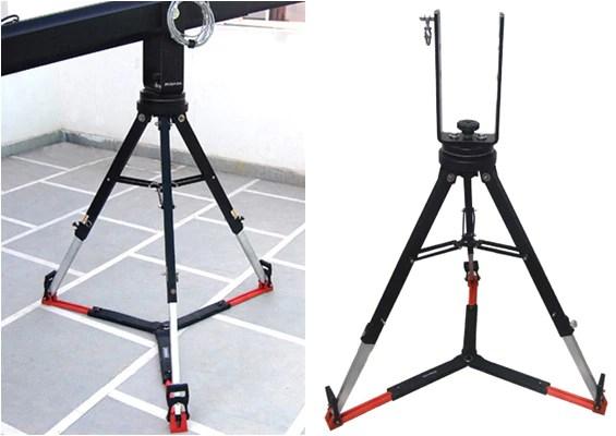 camera crane with tripod