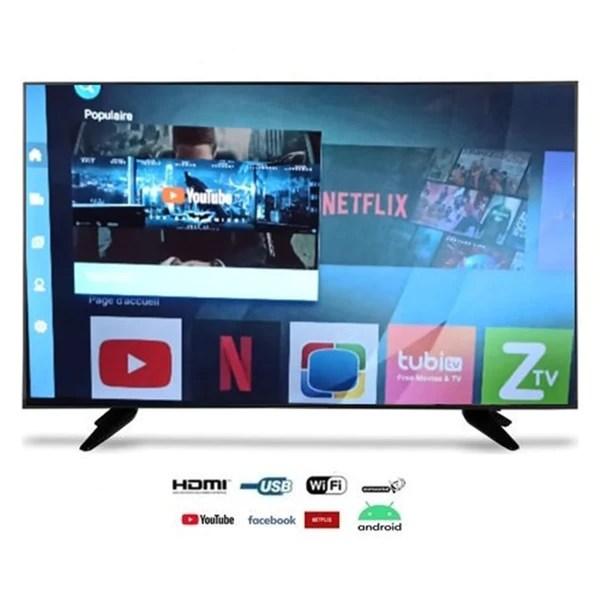 beltec smart tv 32 wifi android recepteur satellite hd 8gb tnt integre 3hdmi 2 usb fabricant vision