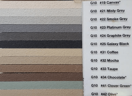 A polymer-modified grout that produces hard dense joints that are resistant to shrinking cracking and wear. Cta Grout Colour Chart Euro Abrasives Sydney Hardware Building Supplies
