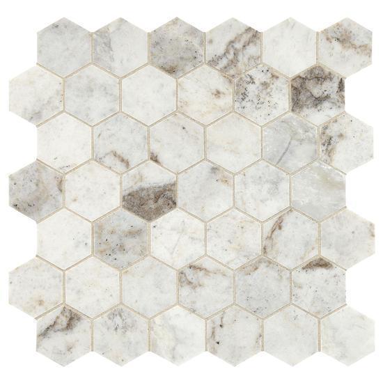 american olean natural stone hexagon