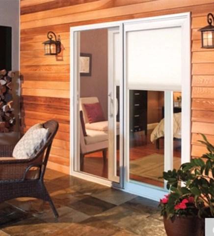 installed pella 350 series sliding patio door