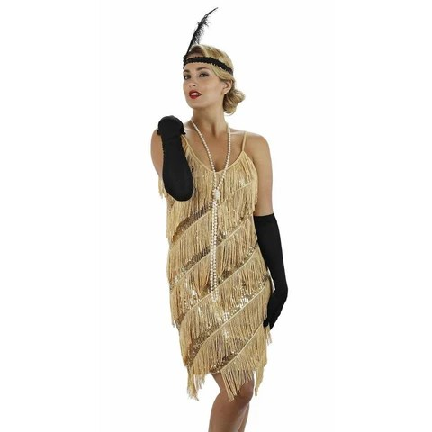 Fringe Flapper Dress | 1920s Fringe Dress - Flapper Boutique