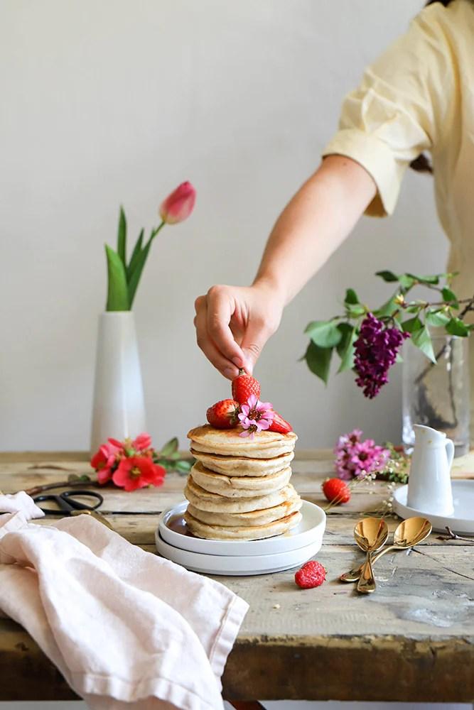 Pancakes Vegan super fluffly