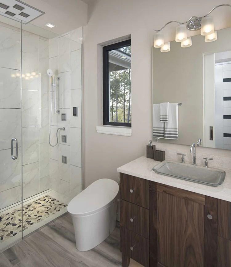 bathroom recessed lighting placement