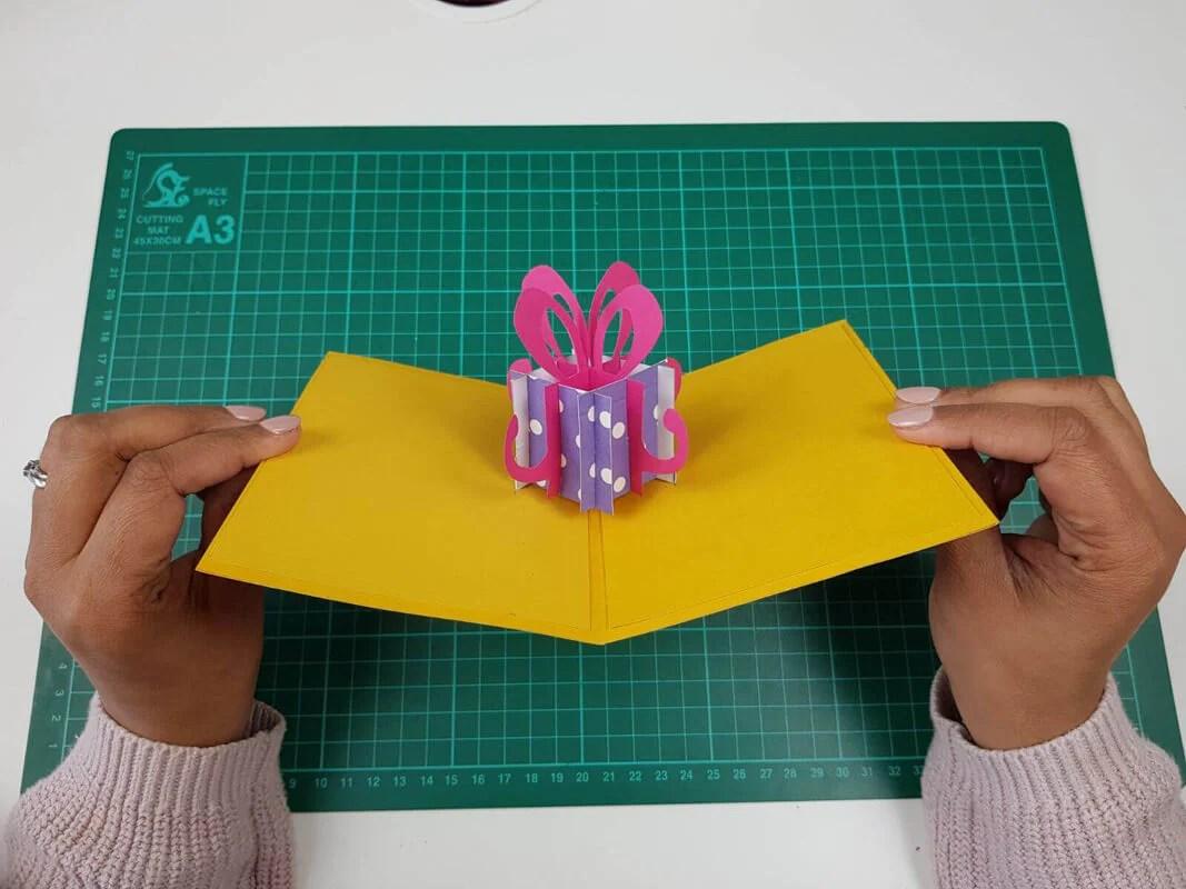 How To Make Pop Up Birthday Cards Step By Step Tutorial Sliceform Cardology